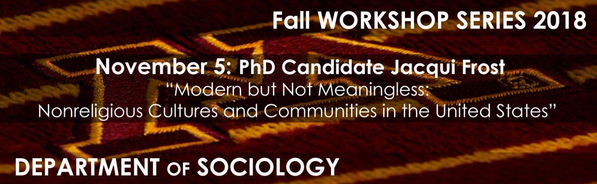 UMN Sociology on Twitter: