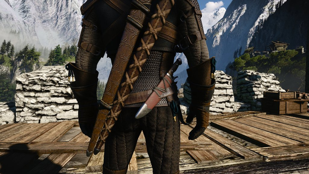 Nexus Mods On Twitter E3 Native Witcher S Knife Adds A Knife To The Starting Armour Natively While Making It A Little More Different Than The Venomous Viper Reskin Witcher3 Https T Co 0opwp30o1x Nexusmods Tw3