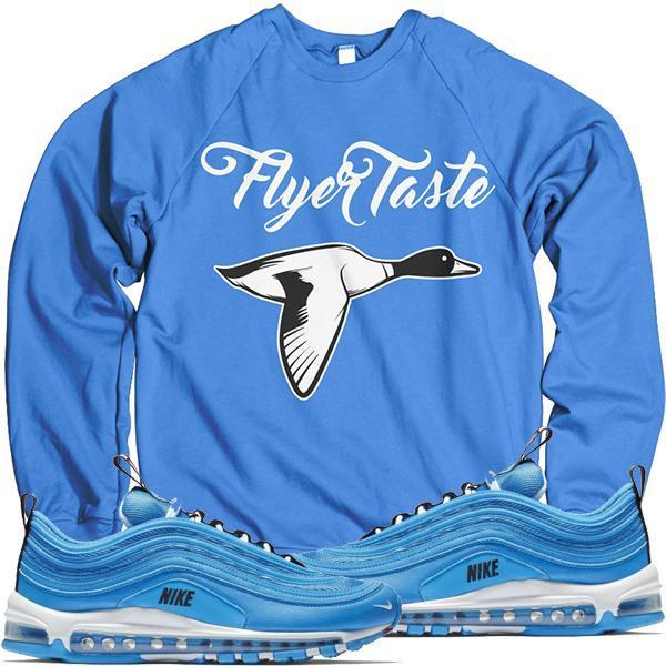 Air Max 97 Blue Hero Sneaker Crewneck Sweater - FLYER TASTE - Shop Online c7184c19f