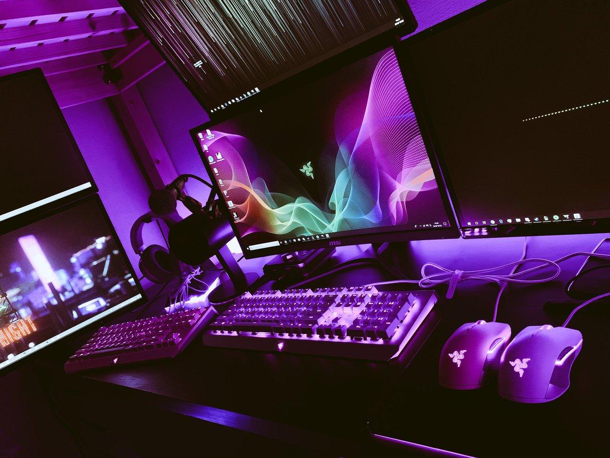 Nico 1234 Lanando A Moda Do Double Razer Setup