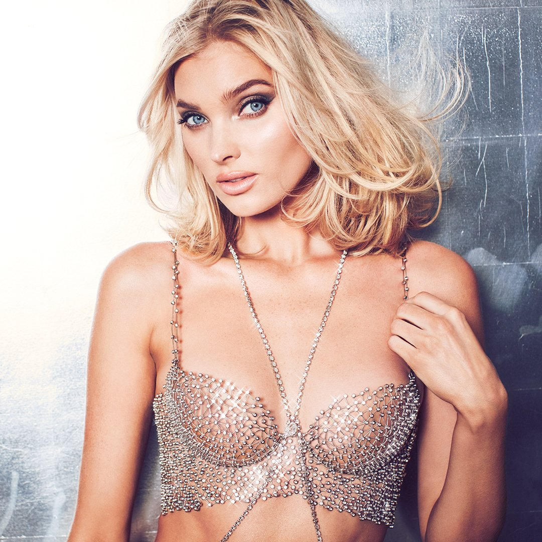 Introducing the $1 Million Dream Angels #VSFantasyBra, worn by @elsahosk & designed by Atelier Swarovski. See it sparkle on the runway in the , Su#VSFashionShownday, Dec. 2 at 10/9c on . @ABCNetworkhttps://t.co/uCo2JsirUy
