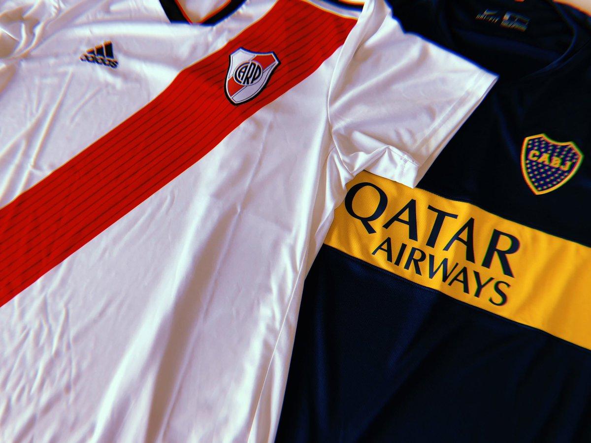 ❗️❗️#SORTEO ❗️❗️  SUPERCLÁSICO LIBERTADORES  ¿Querés ganarte la camiseta de los finalistas de la #Libertadores?  ▪️Seguinos ▪️Dale RT ▪️Decinos cuál querés ganarte  ⚪️🔴🏆🔷🔶 ➡️ Se sortea el día previo a la Final de vuelta ⬅️  #MktR #SuperclásicoLibertadores