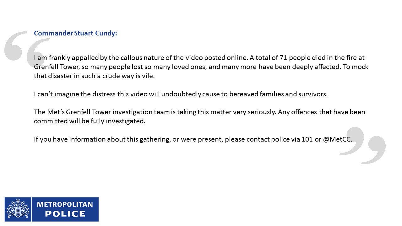 Metropolitan Police on Twitter