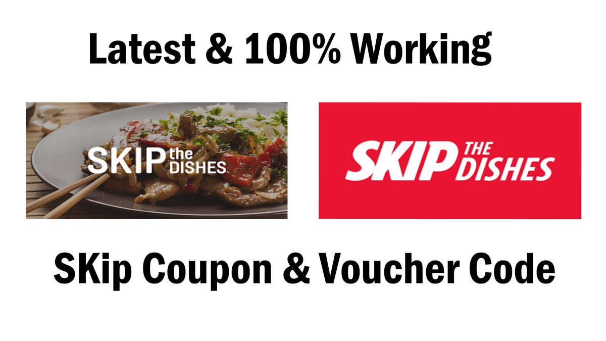 6 Skip The Dishes promo codes & discounts that work