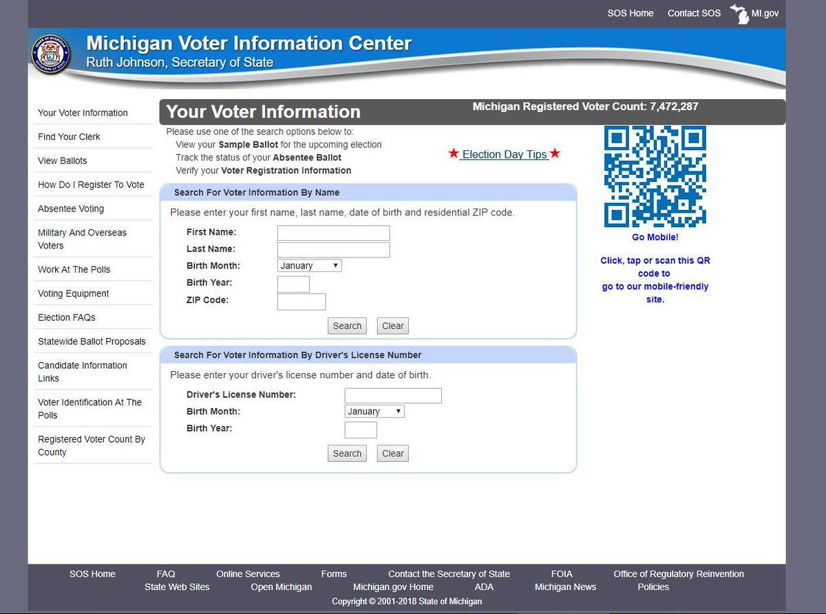 How to view your 2018 michigan general election sample ballot.