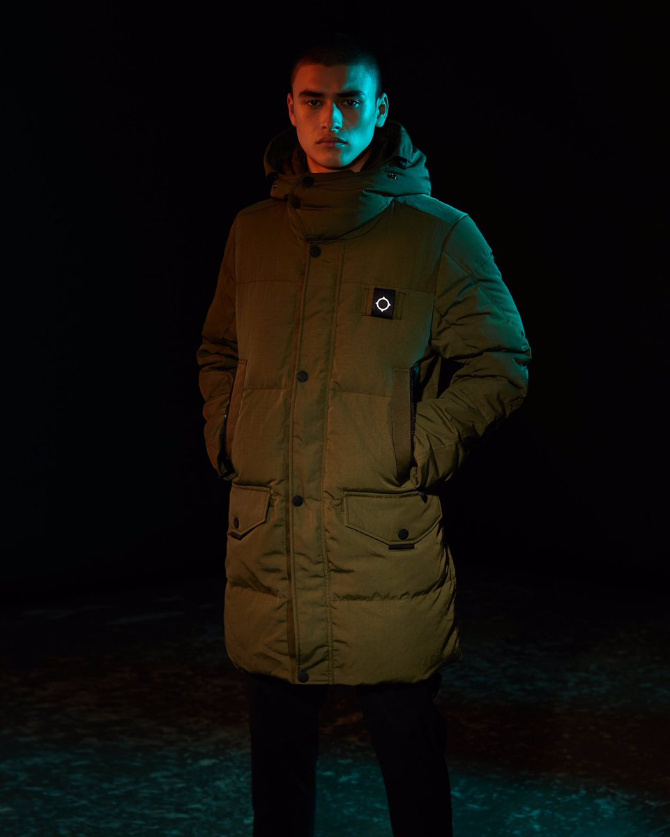 7bd2a096dc0 MASTRUM Ursa Down Jacket crafted from hardwearing Japanese Ottoman ...