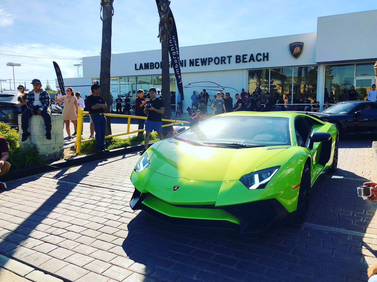 Lambo Newport Beach On Twitter V12 Bull Departing Our Monthly