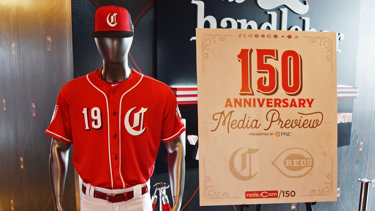 cincinnati reds 150th anniversary shirt 854111