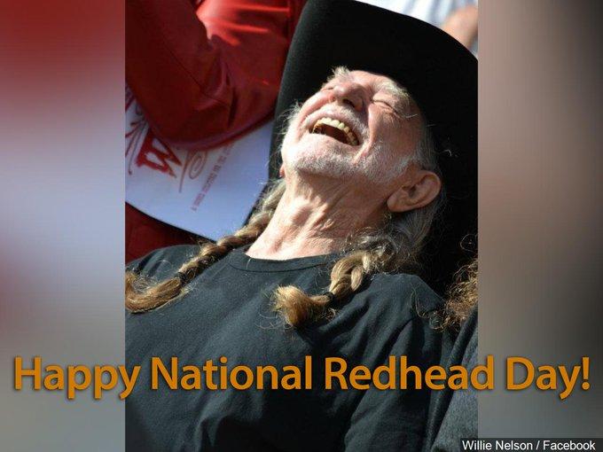 Happy Redhead Day : Latest news, Breaking news headlines