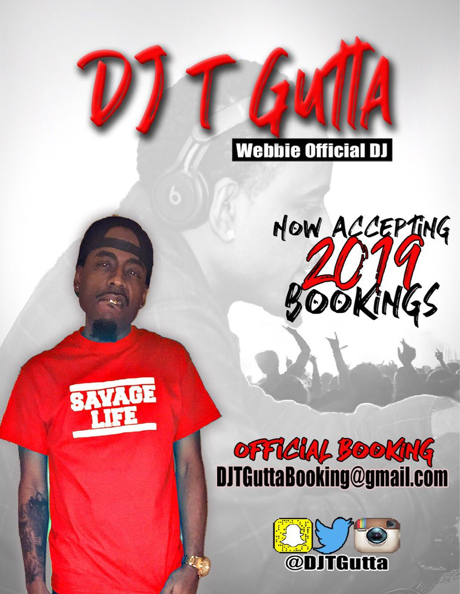 Webbie Official Dj On Twitter Today Is The First Day To Book Your