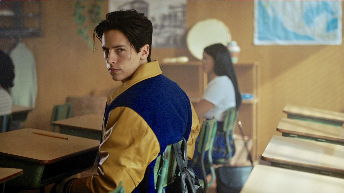 This Wednesday, we need to show up for #Riverdale and @colesprouse smoldering stares...🎲🏆🔥☠️🐍