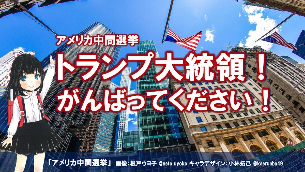 アメリカ中間選挙 hashtag on Twitter