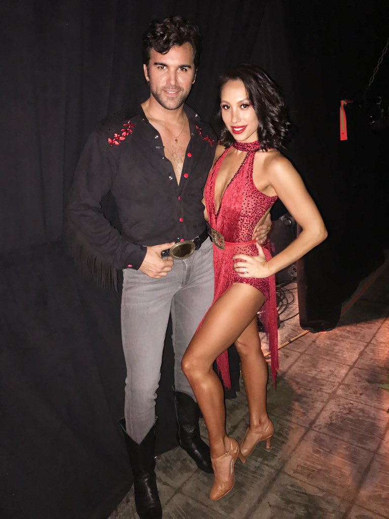 Paige dating alan dwts