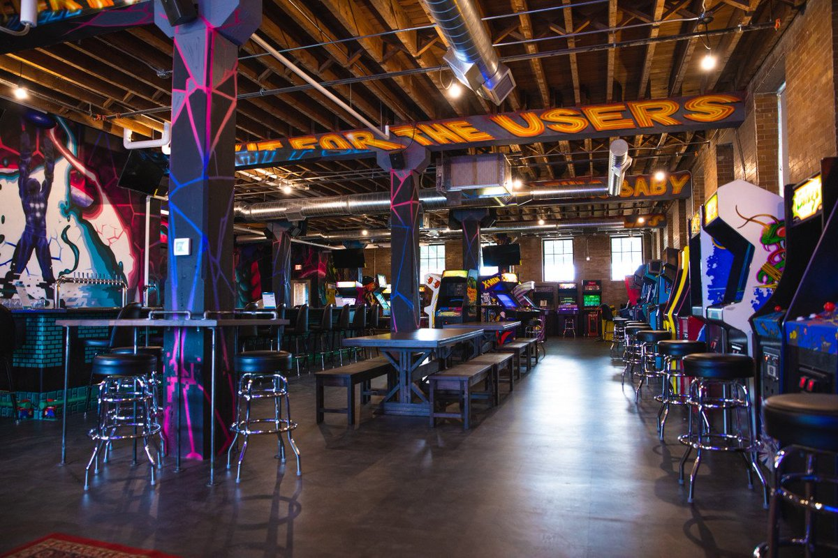 Fargo Moorhead On Twitter Arcade Games And Craft Beers Anyone