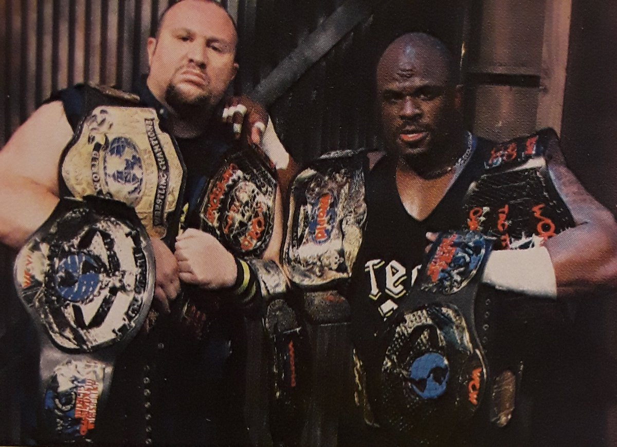 """Rasslin' History 101 on Twitter: """"Talk about hardware!.in 2007,Bubba and D-Von Dudley became the first team in history to win the ECW,WWE,WCW,NWA and TNA Tag Titles.The Dudley Boyz are,without question,the most decorated"""