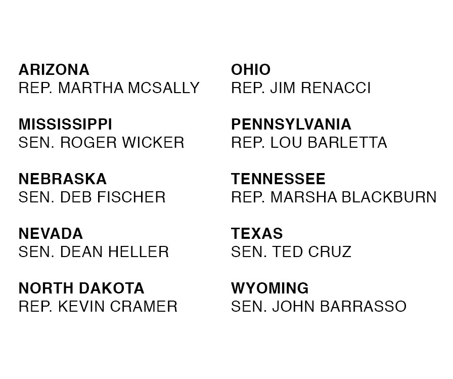 A handy list of candidates for Senate who voted to gut protections for people with pre-existing conditions. #vote