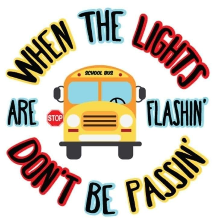 Image result for when the lights are flashing don't be passing