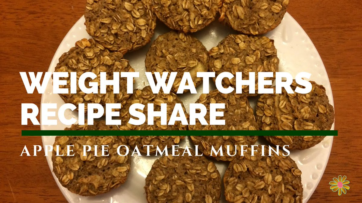 https://t.co/vEHH9jai09 - Weight Watchers Recipe Share | Apple Pie Oatmeal Muffins | 2sp https://t.co/DNECJtgxmx