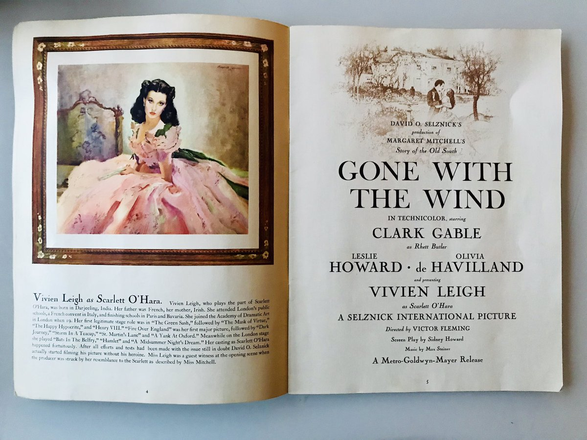 Essays In Science  For Gone With The Wind Has Cast Bios Production Notes And Essays By  Clarkgable And Vivienleigh On Rhettbutler And Scarlettohara  Respectively Healthy Eating Habits Essay also Mahatma Gandhi Essay In English Past Pop Culture On Twitter Estate Sale Find An Original Program  Thesis Examples In Essays