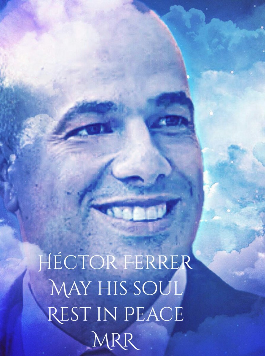 I feel very sad about the sudden death of Héctor Ferrer <br>http://pic.twitter.com/bTi6gvEujU