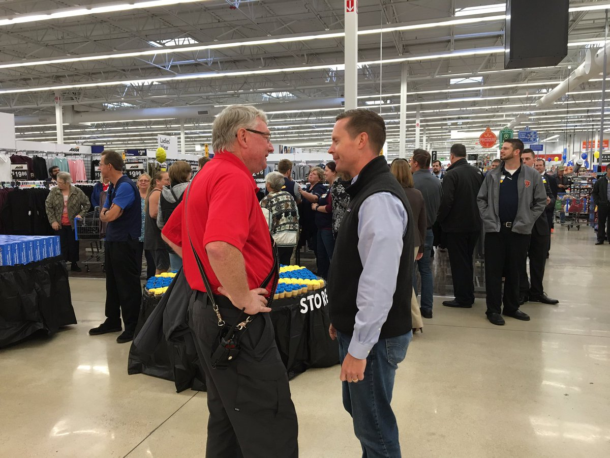 US Rep Rodney Davis On Twitter Glad I Could Attend The Grand Re Opening Of Walmart In Litchfield Last Week Is A Large Employer Towns