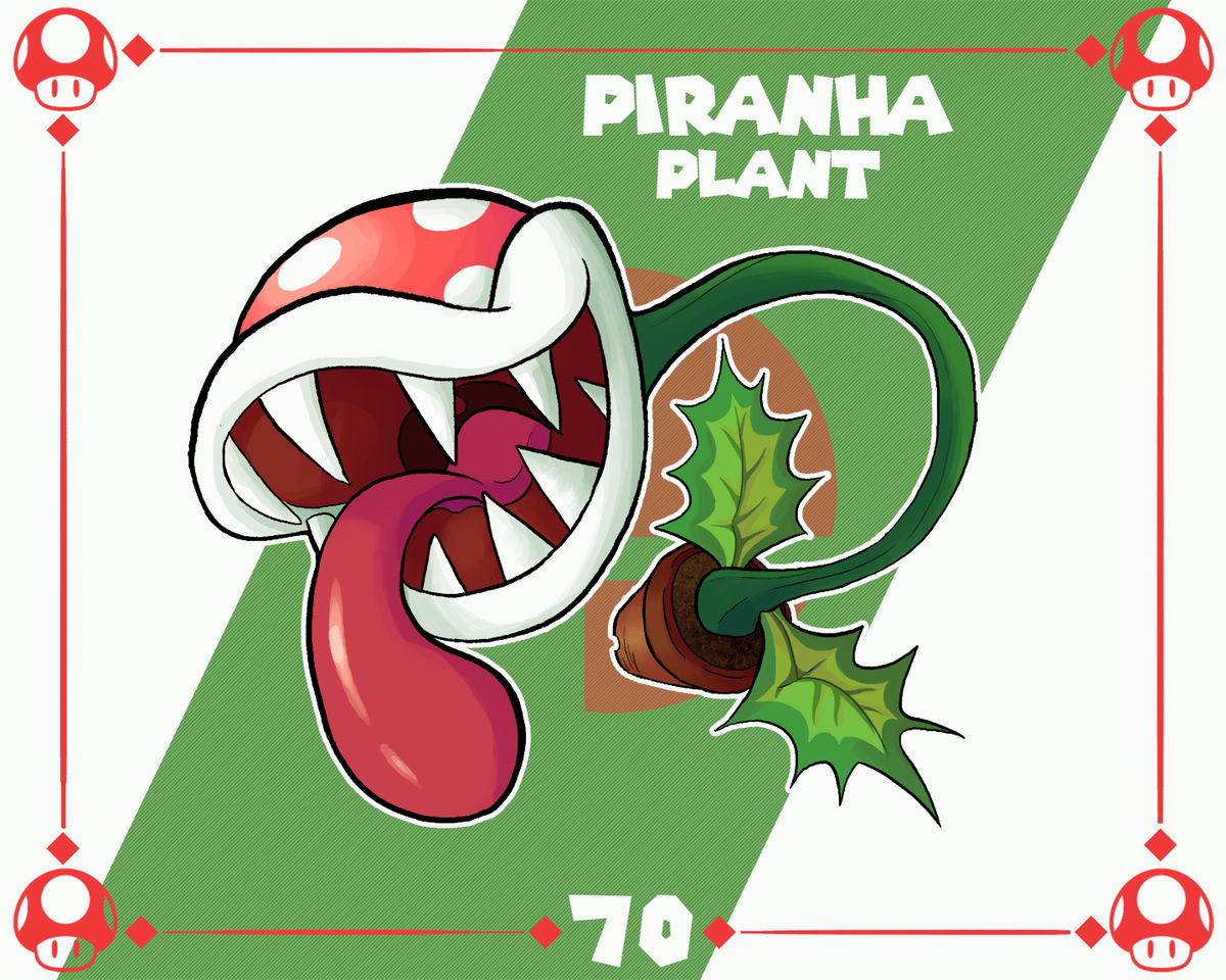 Piranha Plant is here and the universe couldn't be happier about it. #SuperSmashBrosUltimate