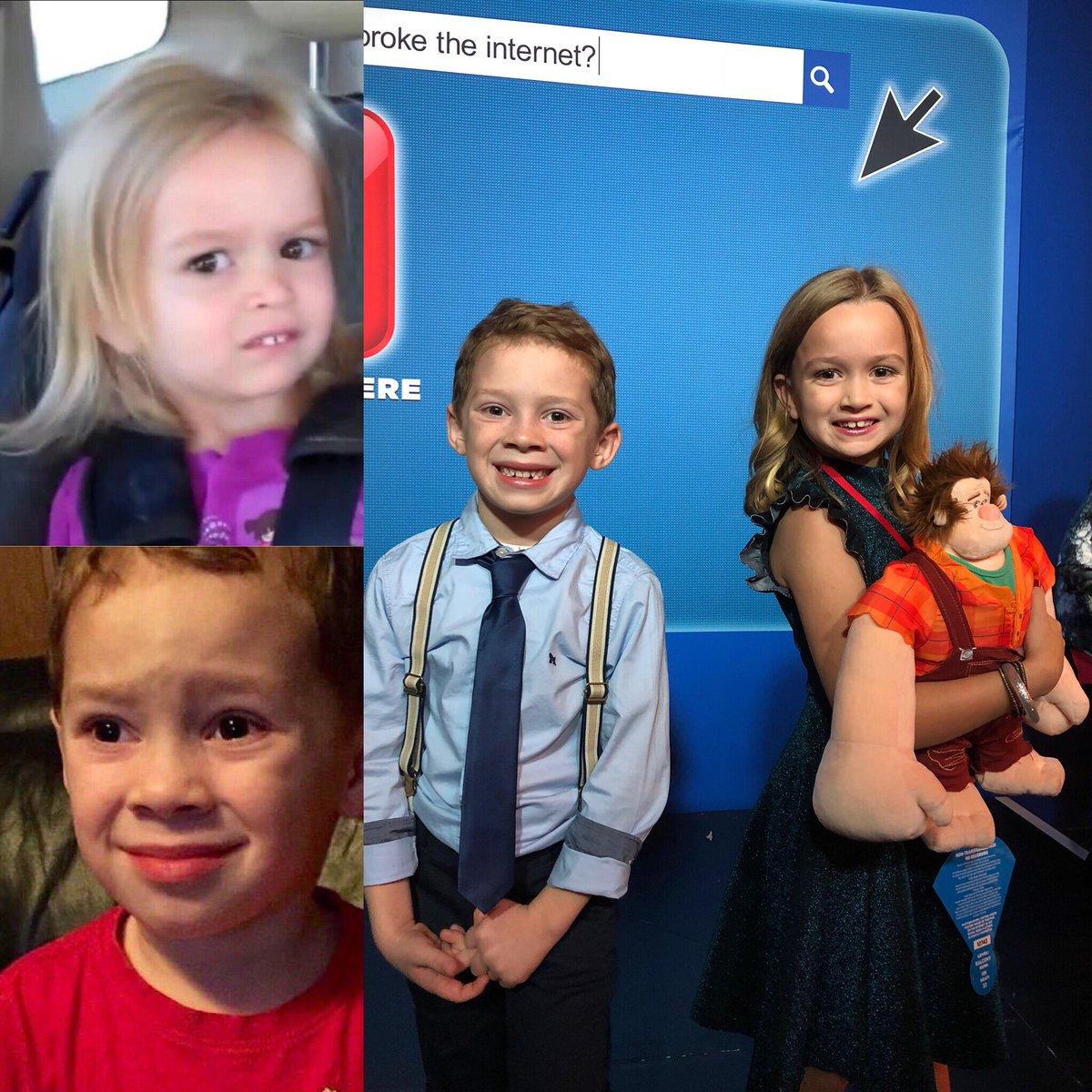 Chloe and Gavin break the internet! #ralphbreakstheinternet @DisneyStudios