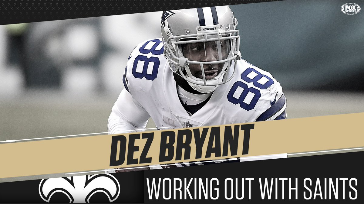 Fox Sports Nfl On Twitter The Saints Are Bringing Dez