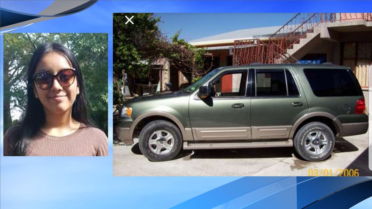abc news 4 on twitter correction to earlier tweet ford expedition 13 year old hania aguilar still missing after police say she was abducted on her way to school in nc suspect vehicle is ford expedition 13 year old hania