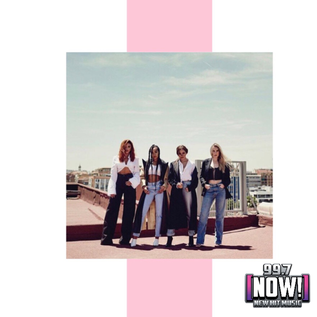 Want to be invited to our exclusive #LM5 listening party? Here's how to enter! Create something showing us how much you love @LittleMix with the hashtag, #LM5x997nowx997now. Post it on Twitter or Instagram, tag us & BOOM! You're entered ✨