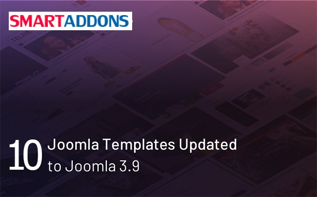 [UPDATE] We've updated more 5 Joomla 3.9 Templates. Let's check them out!  http:// bit.ly/joomla39-templ ates  …   #joomla39 #joomla3 #joomla39template #joomla #joomla3x #websitetemplate<br>http://pic.twitter.com/YC009x7HlV