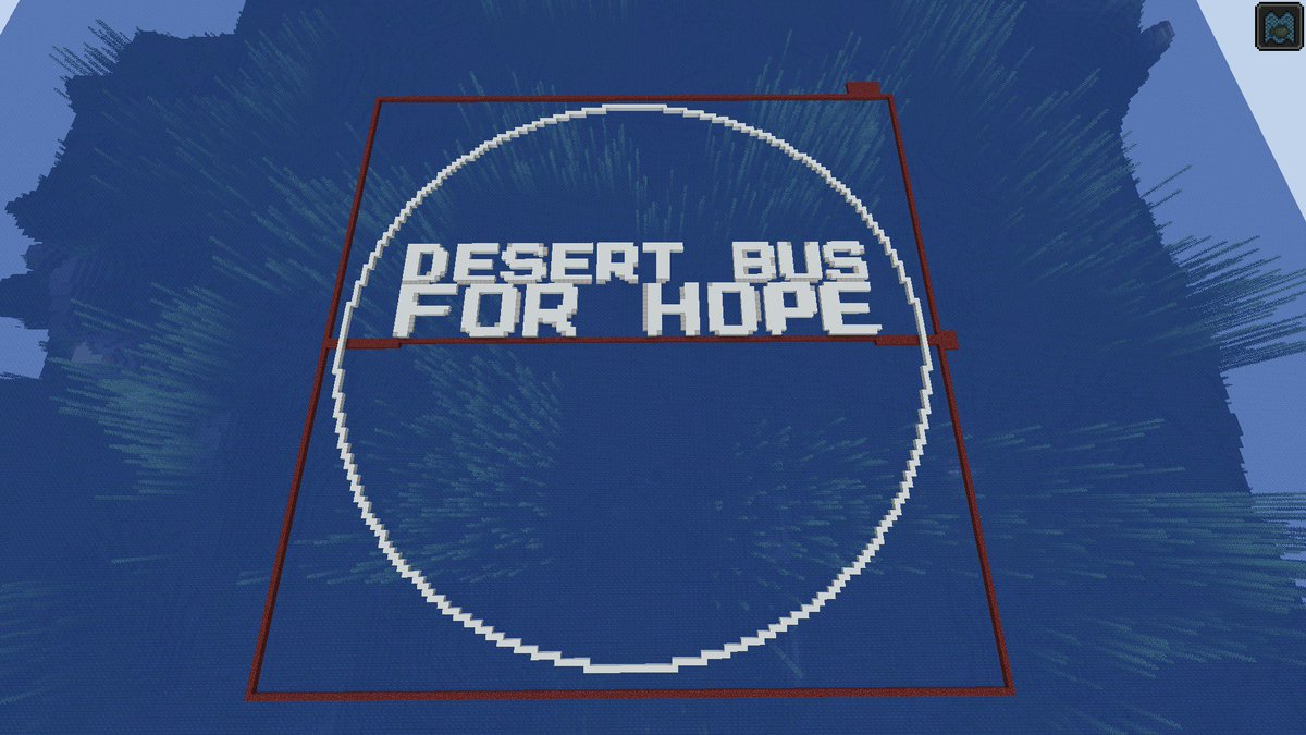 Serge Yager On Twitter Day 1 Of Our Desert Bus Minecraft Project