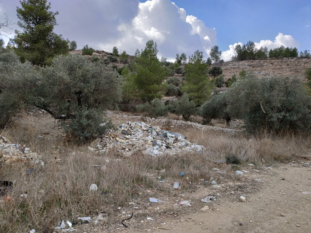 Land use, access and waste management in the #OPT