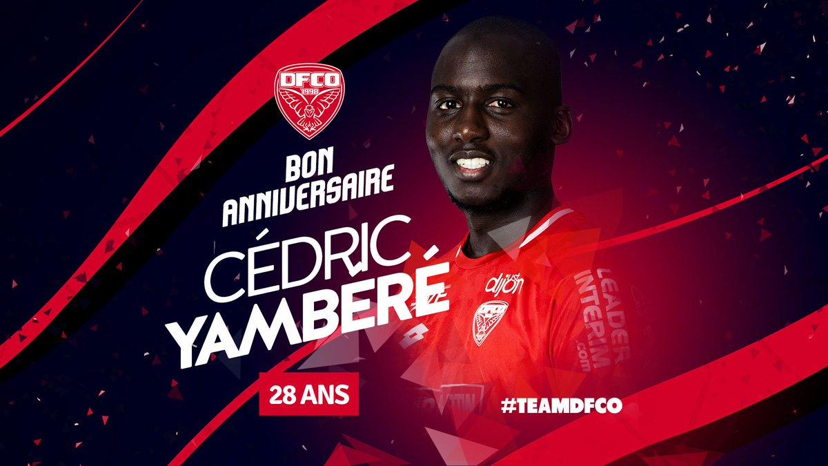 Dijon Fco On Twitter Joyeux Anniversaire A Cedric Yambere