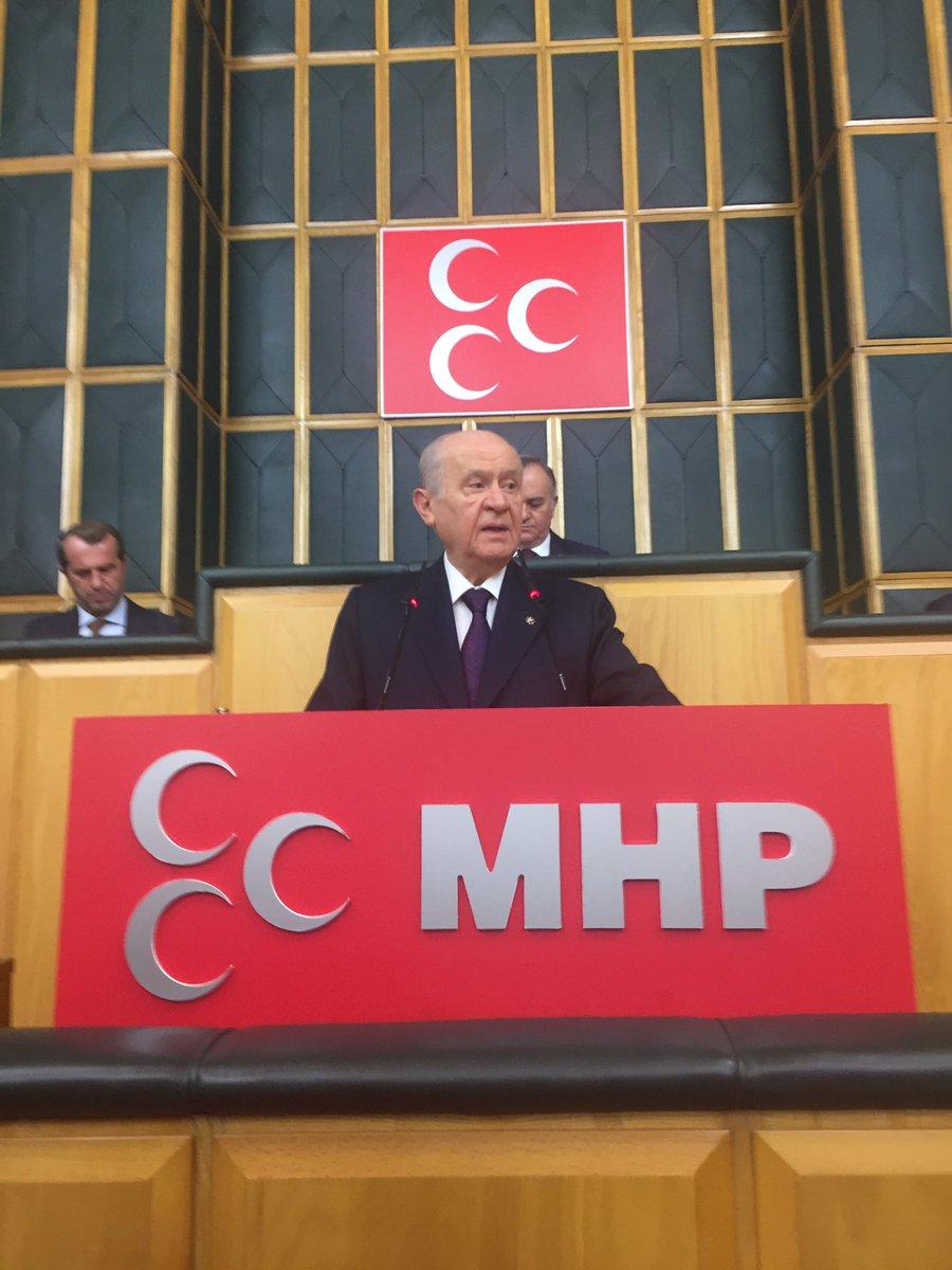 MHP Lideri Devlet Bahçeli: Enflasyon canavarı başını çoktan kaldırmıştır.