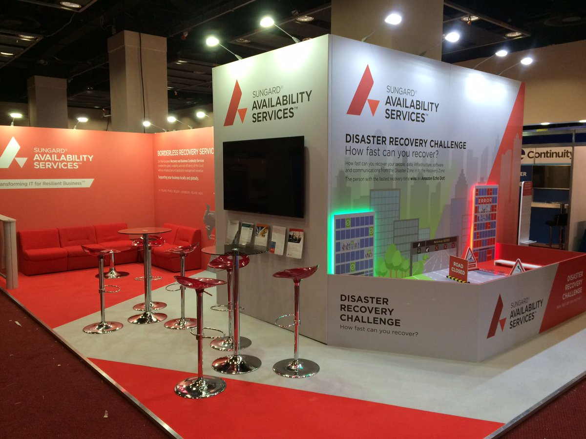 Sungard Exhibition Stand : Jac exhibitions