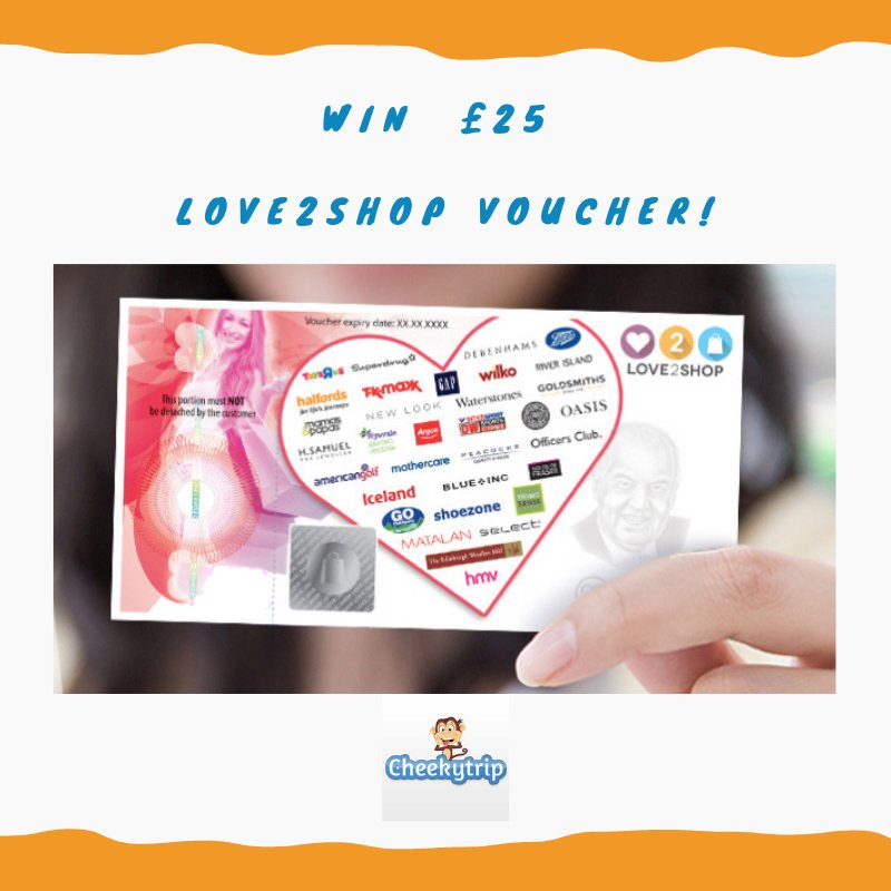 Cheeky #Giveaway 🐒 Follow & RT cheekytrip.com for the chance to #WIN a £25 Love2shop voucher & a cuddly cheekytrip Monkey! 🤑 🐵 🍀 🤞 Closes 19.11.18 - Good Luck! 🤞 🍀 Ts & Cs Apply #Tuesdaymorning # #TuesdayTreat #TuesdayThoughts #TuesdayMotivation #winit