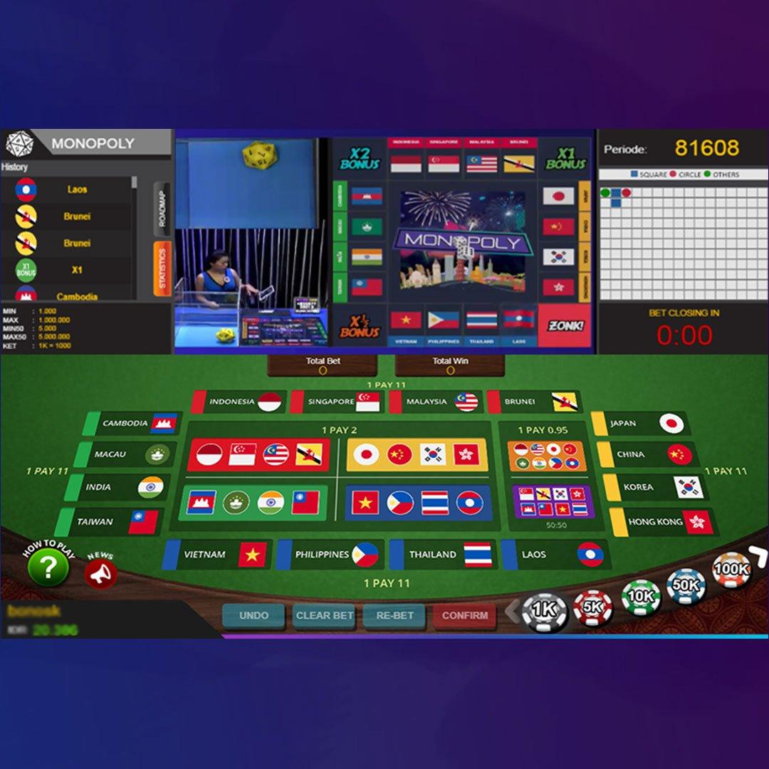 permainan monopoli di situs IDNPLAY