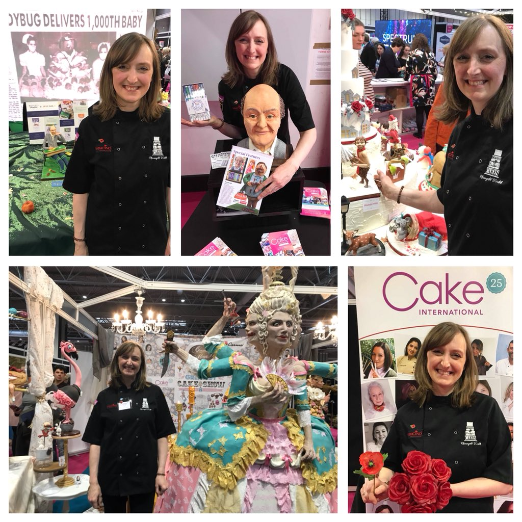 With just a few@of my pieces from @thecakeshows  #roalddahl #flamingo #mrtumnus #waferpaper pic.twitter.com/iLLtRrfqA5