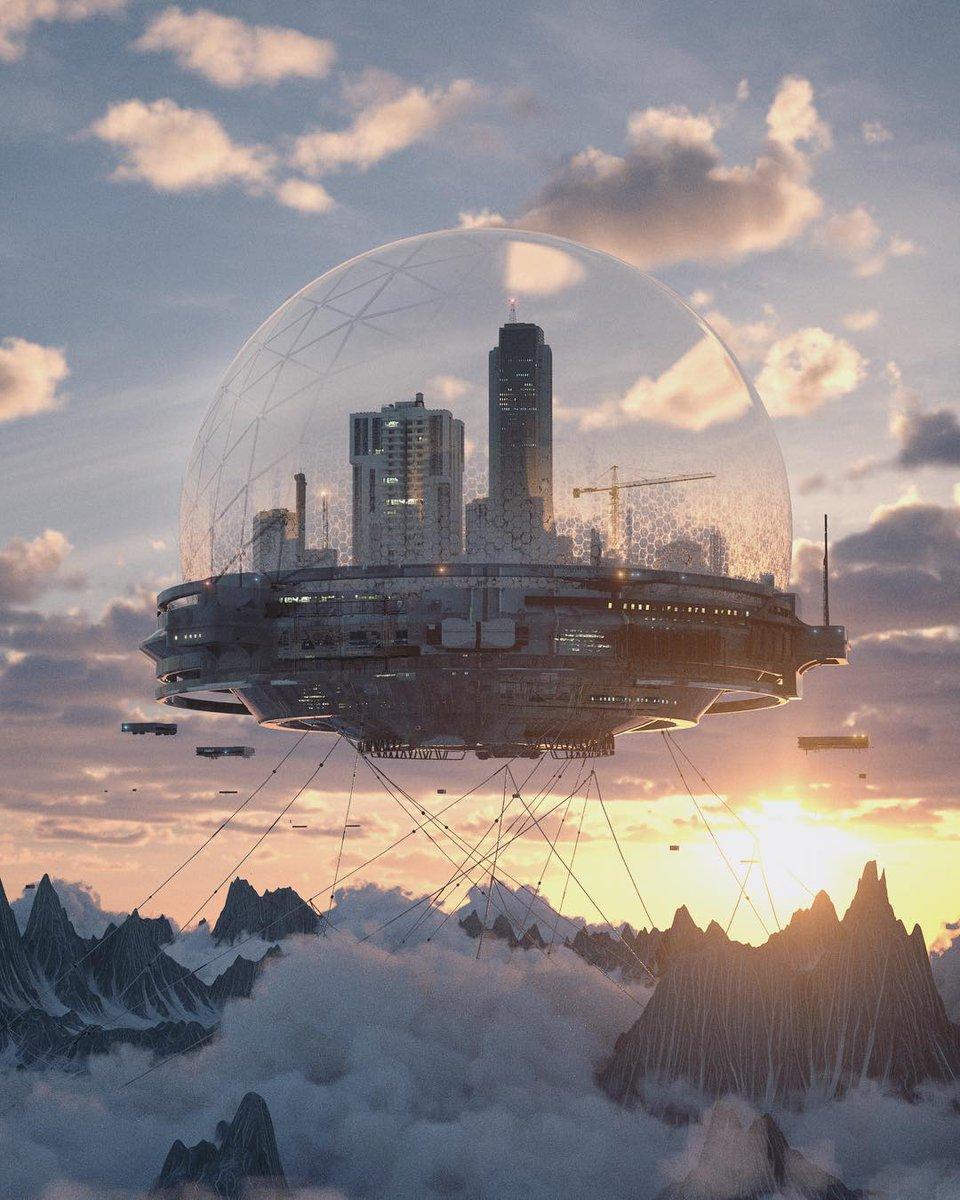 sci fi art - 736×920