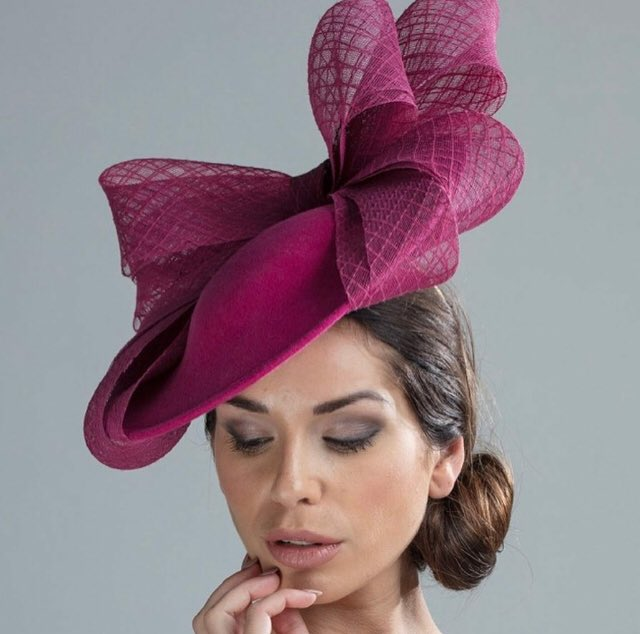 8fbad428 We send out free colour samples  https://www.hostiehats.co.uk/product/austen-dish-hat/ … #elegant #trending  #winterfashion #winterwedding #guest ...