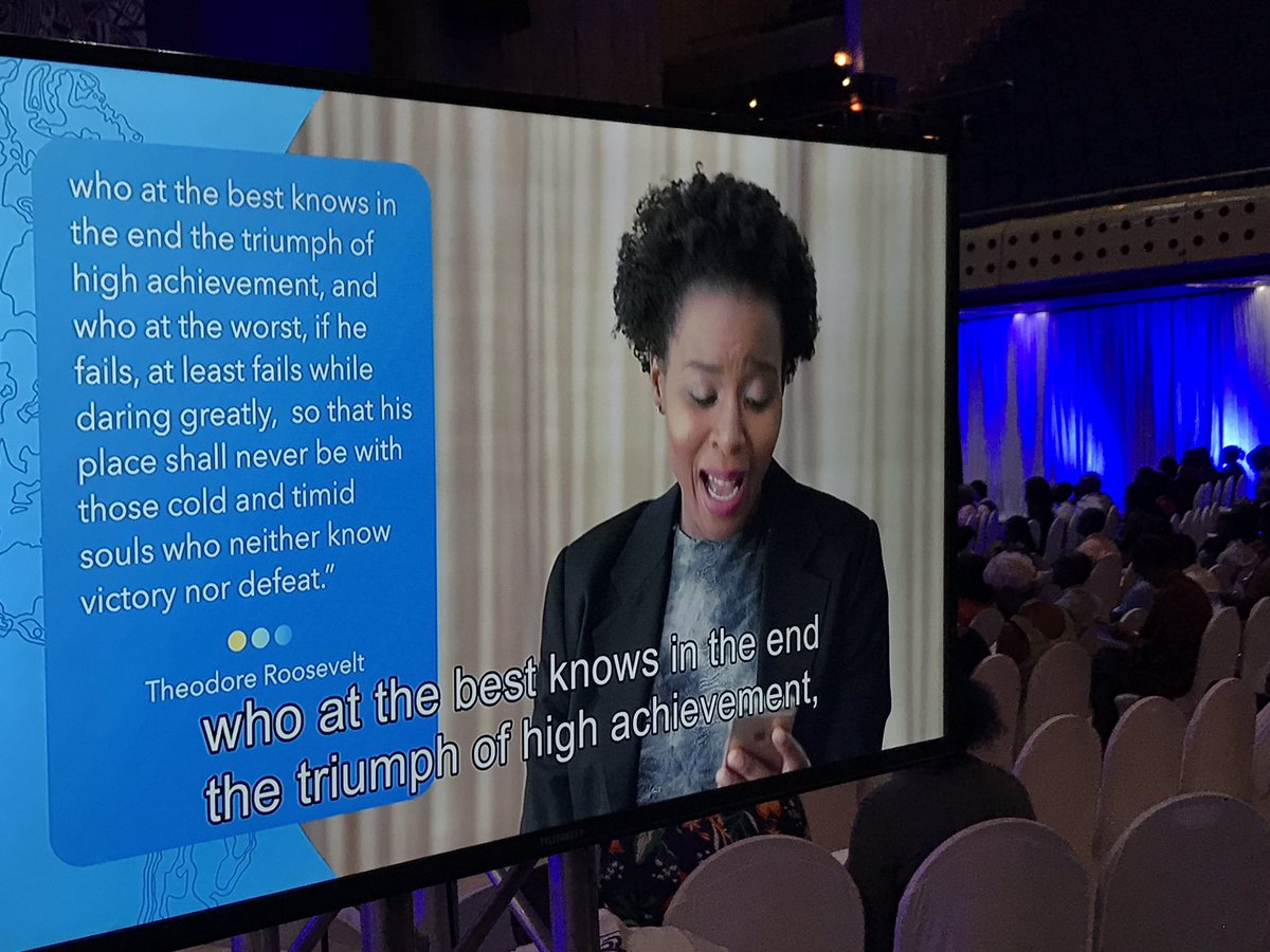 """Focus on WHY you started""  There will be noise and challenges, but the anchor is your WHY. #glszim #gls18 @nthabileg<br>http://pic.twitter.com/c402NRz3Ki"
