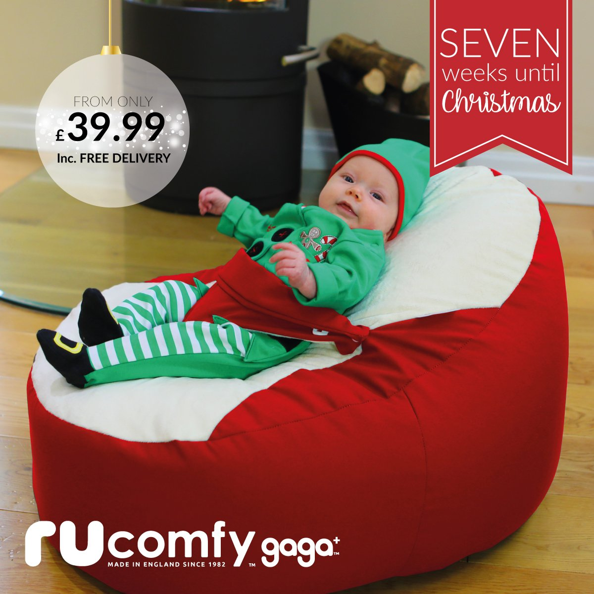 Swell Rucomfy Beanbags On Twitter Whos Having A Christmas Baby Pabps2019 Chair Design Images Pabps2019Com