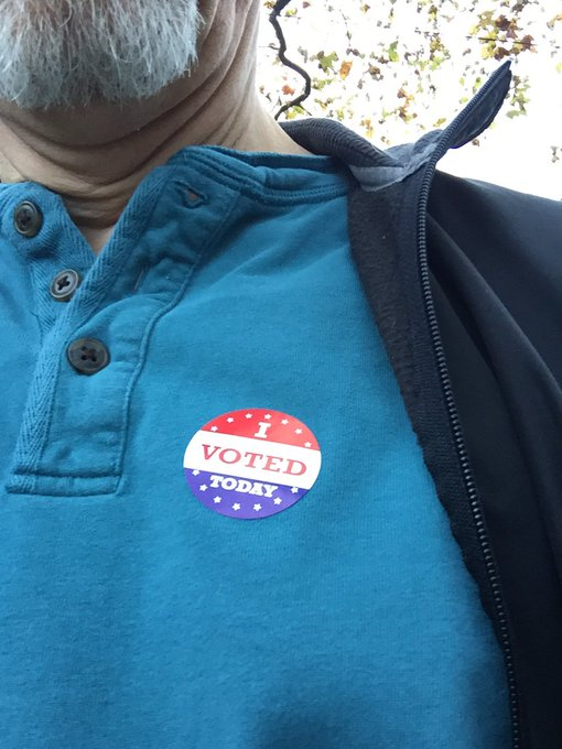 I voted for my mother, Shirley Chisholm and Norma Rae.   Happy Birthday