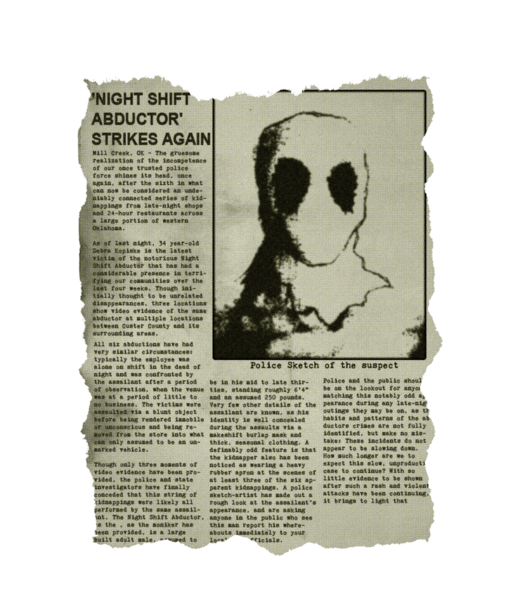 Puppet Combo On Twitter One Of The Newspaper Articles In Stay Out Of The House Police Sketch Drawing Revfreakshow Writing Ginose P Play The Game Https T Co Sdfdzqoi0j Gamedev Horror Https T Co Cbj2akg3ao