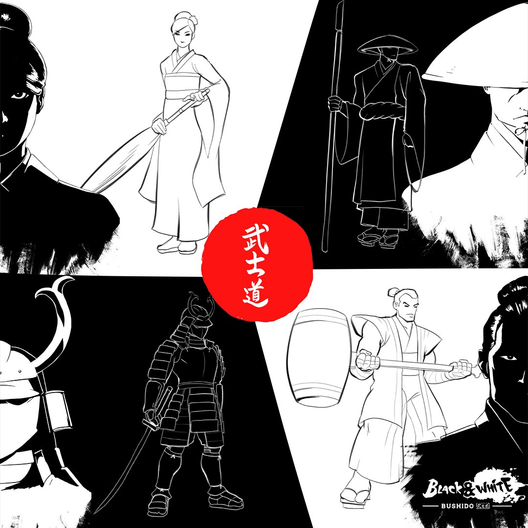 Who are you going to fight with?😎 Test your skills with Black and White Bushido on the #NintendoSwitch ➡️ EU: https://t.co/wzrcgNFv8E NA:https://t.co/wcaCEIAFQU #bushidogame https://t.co/UqpfG8ZLOf