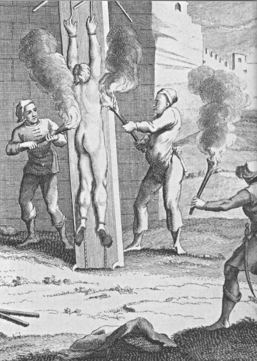 Казнь женщин на колу картинки
