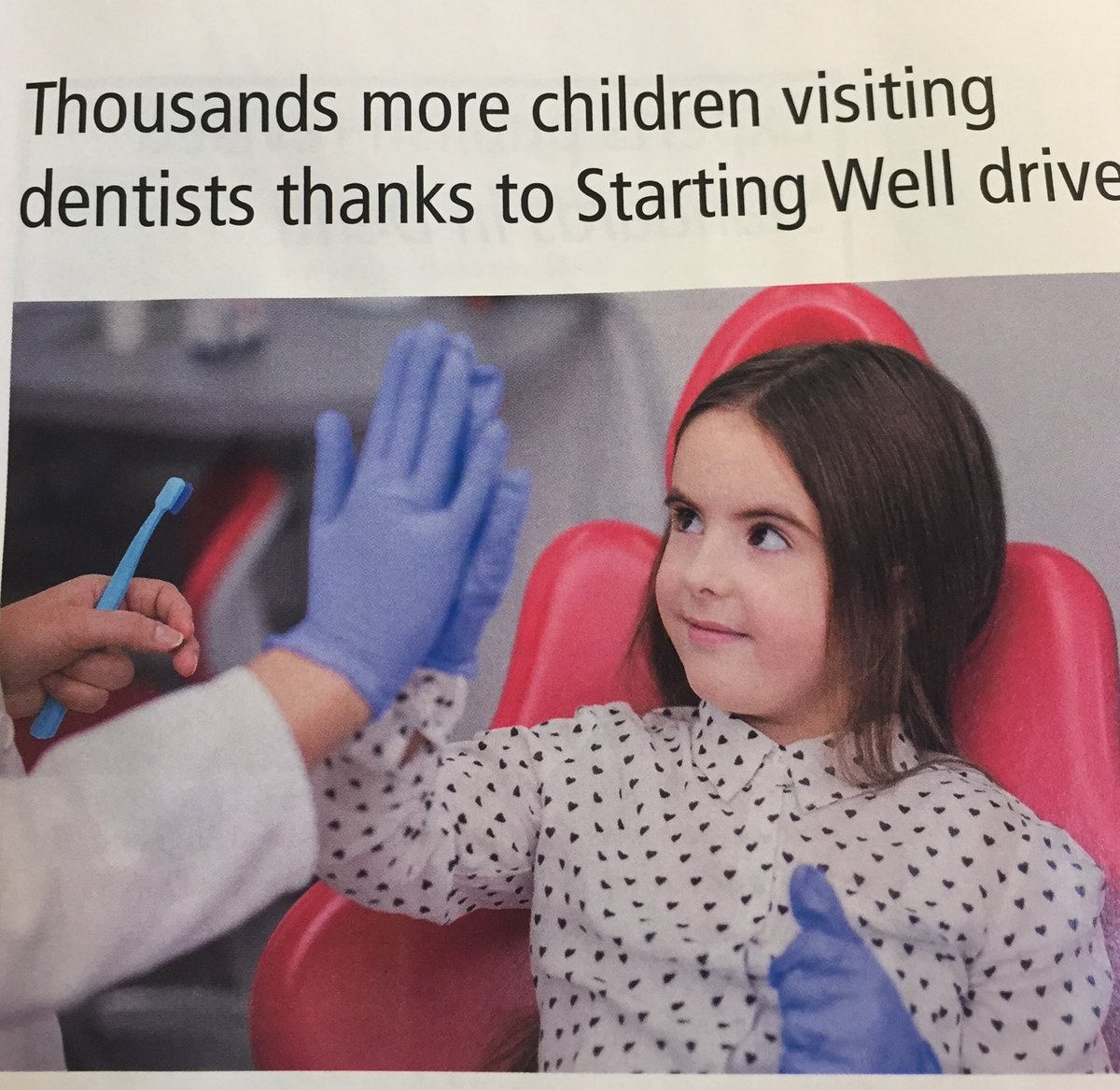 We are proud to be one of the chosen dental practices for this important drive. Some parents don't know what is important to their babies and toddlers oral health wise. #startingwell <br>http://pic.twitter.com/ZNH4plbgXH