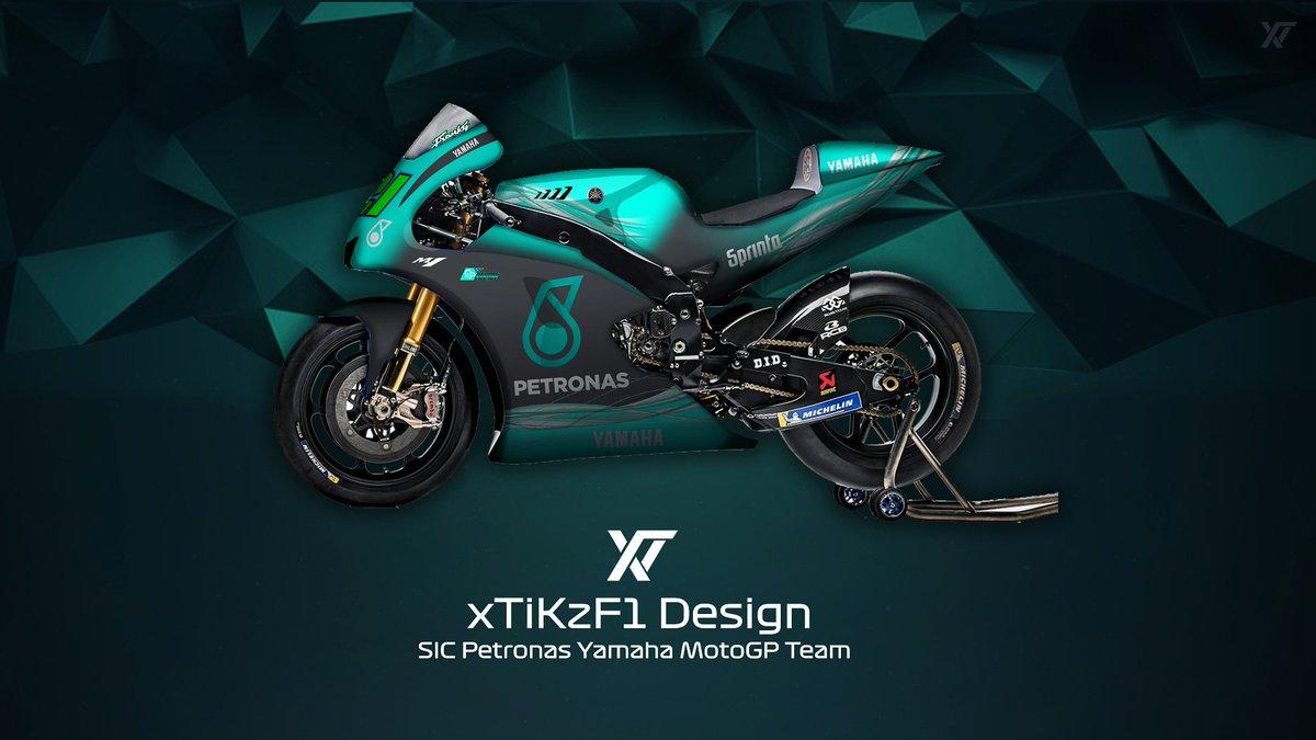 Xtikzf1 On Twitter Sic Petronas Yamaha Motogp Team Concept
