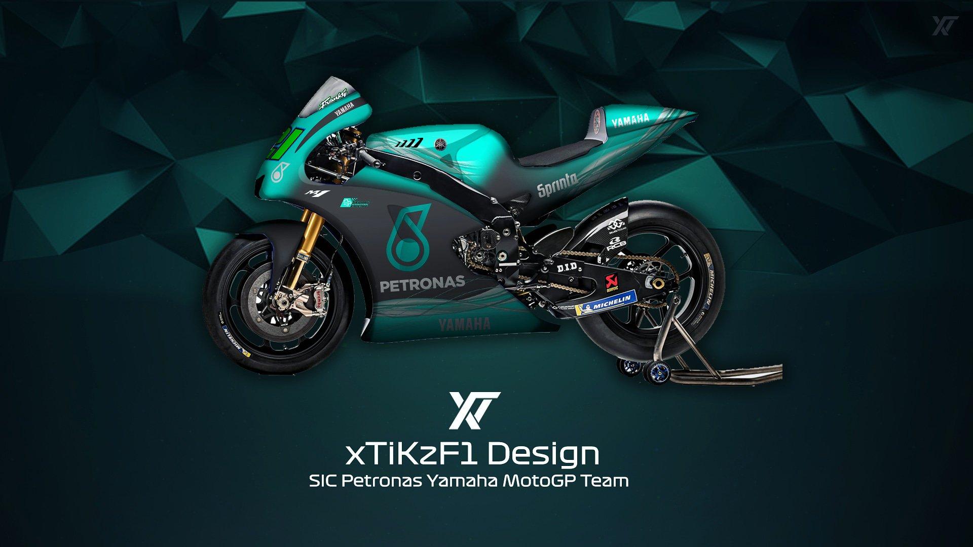 Xtikzf1 On Twitter Sic Petronas Yamaha Motogp Team Concept Yamaharacingcom Sicracingteam Sepangcircuit Petronas Fabioq20 Frankymorbido12 By Xtikzf1 Motogp 2019 Sicpetronas Sic Fm21 Fq20 Yamaha Yzr M1 Https T Co 4ivwy21txf